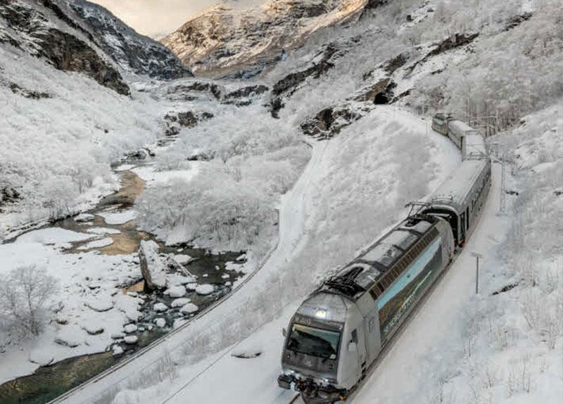 Flåmsbana –  Vandring i Flåmsdalen